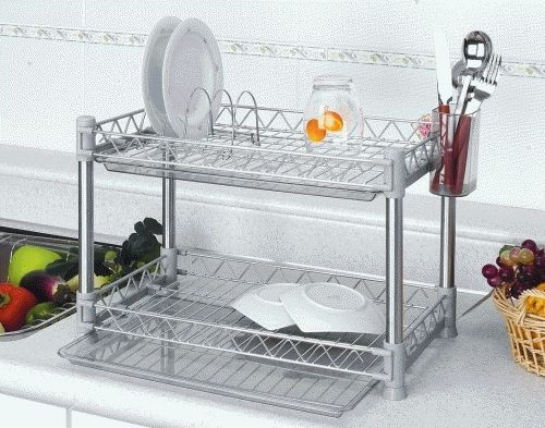 DIY Dish Drying Rack  ★Kitchen shelves★Multi Square 2F Dish Rack★DIY★Shelf