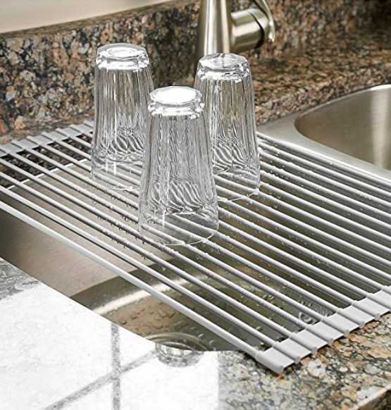 DIY Dish Drying Rack  Over the Sink Dish Drying Rack A Thrifty Mom Recipes