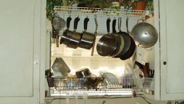 DIY Dish Drying Rack  Hacker Challenge Winner Drain Your Dishes From a DIY