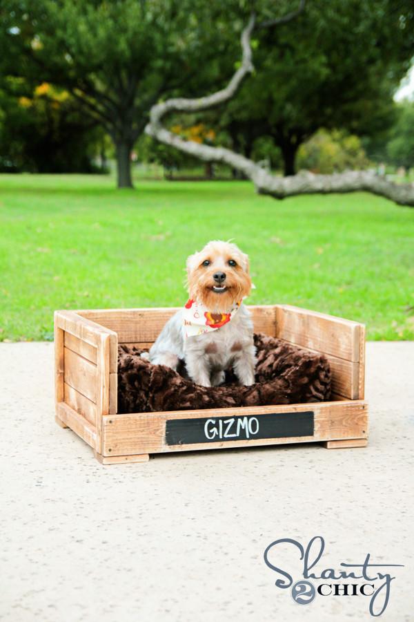 DIY Doggie Bed  DIY $12 Pet Bed Shanty 2 Chic