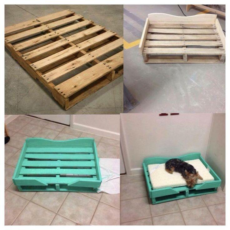 DIY Doggie Bed  Best 25 Homemade dog bed ideas on Pinterest