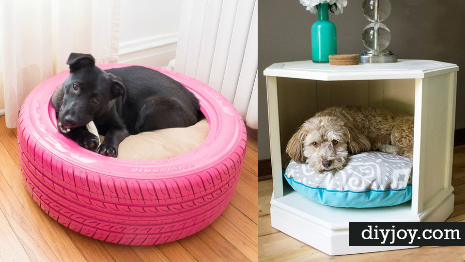 DIY Doggie Bed  31 Creative DIY Dog Beds You Can Make For Your Pup