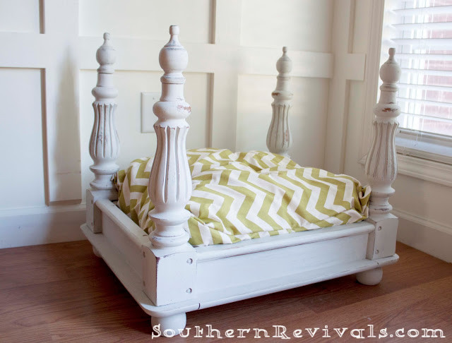 DIY Doggie Bed  19 Wooden Dog Beds To Create For Your Furry Four Legged