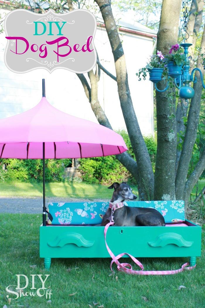 DIY Doggie Bed  25 Fabulous DIY Pet Bed Ideas rt 2 The Cottage Market