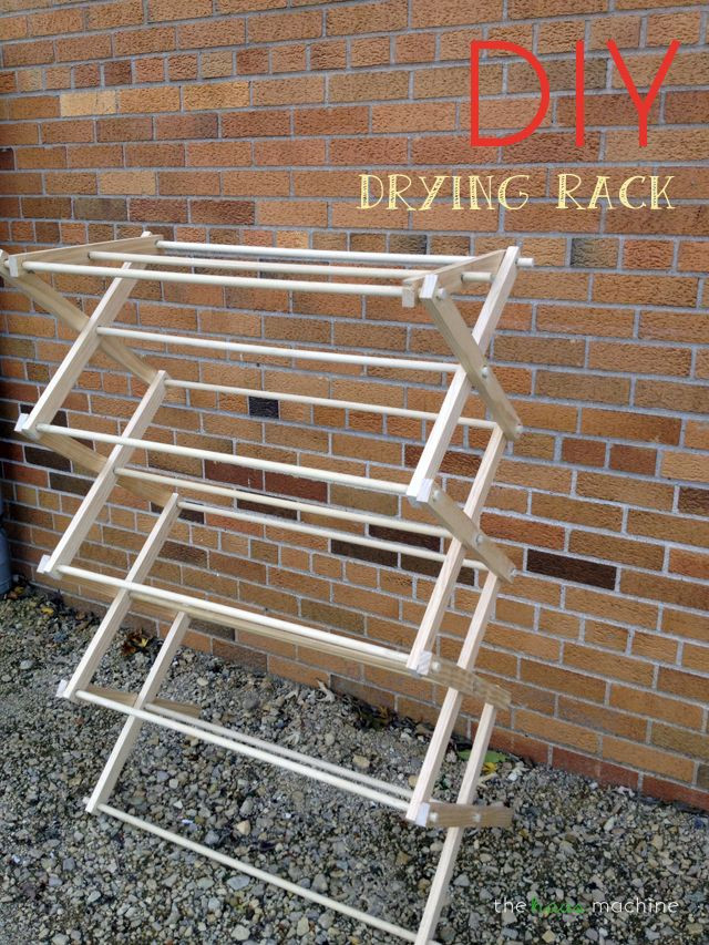 DIY Drying Rack  423 best images about Woodworking stuff on Pinterest