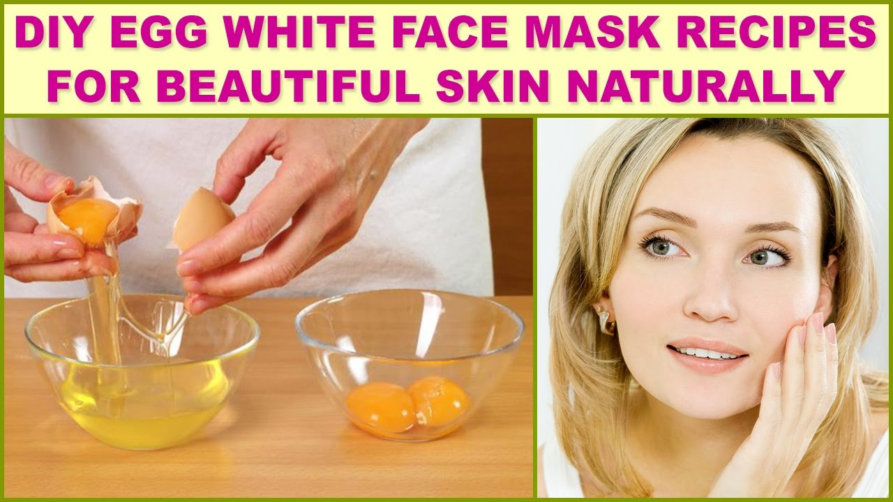 DIY Egg White Mask  DIY Egg White Face Mask Recipes For Beautiful Skin