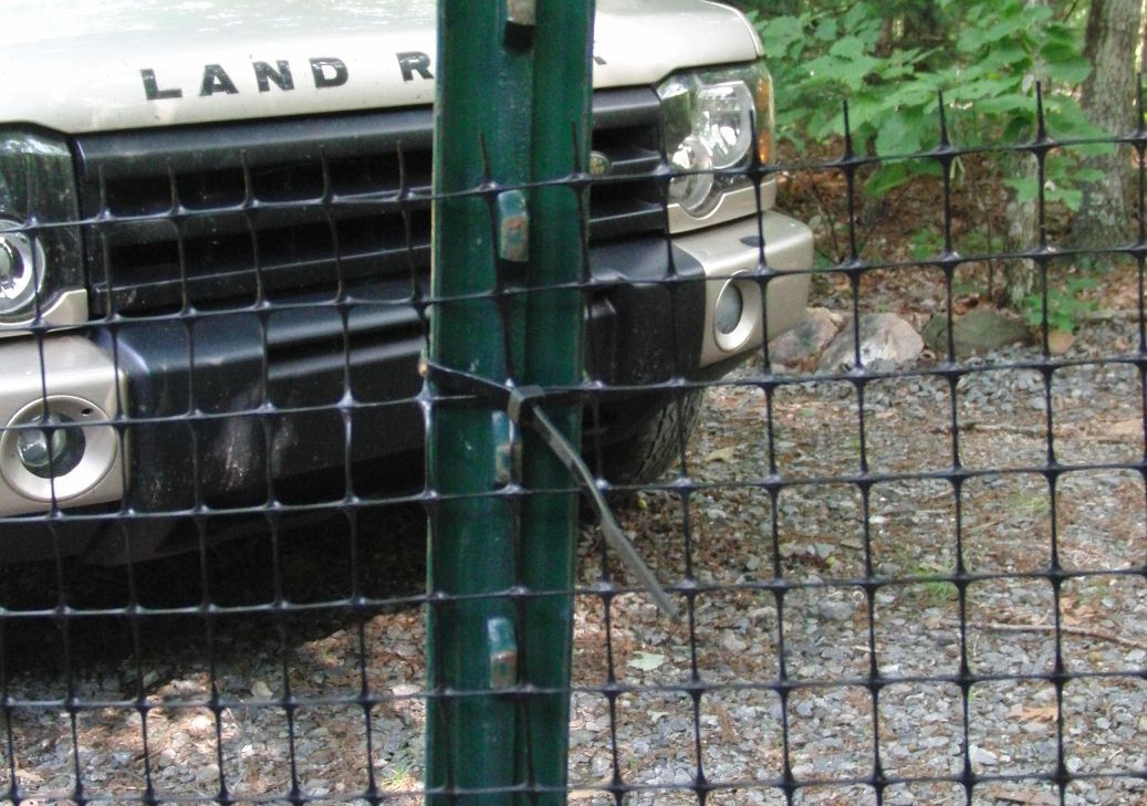 DIY Electric Dog Fence  Our dog fence is nearly 200 ft long and wraps almost