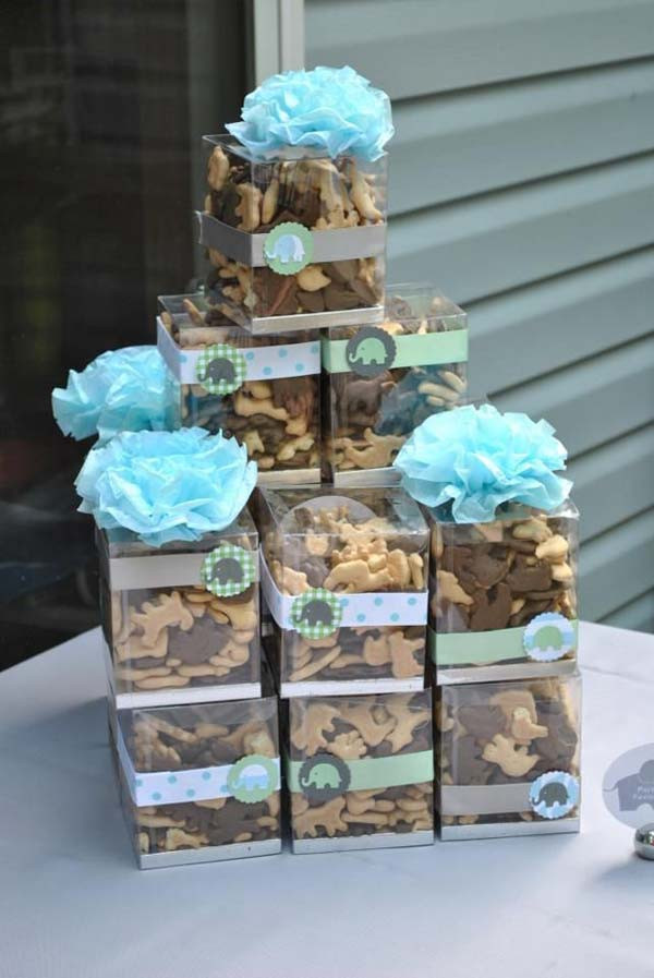 DIY Elephant Baby Shower Decorations  22 Cute & Low Cost DIY Decorating Ideas for Baby Shower Party