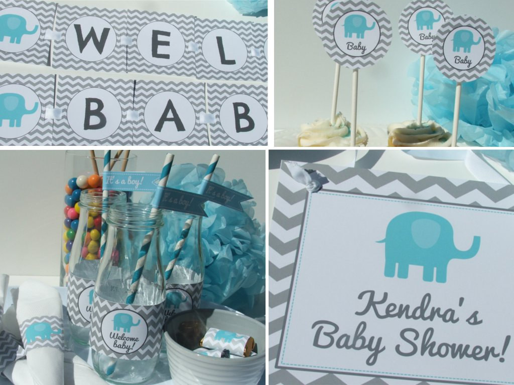 DIY Elephant Baby Shower Decorations  5 DIY Baby Shower Decoration Ideas