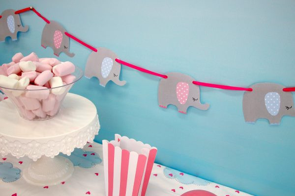 DIY Elephant Baby Shower Decorations  21 DIY Baby Shower Decorations To Surprise and Spoil Any