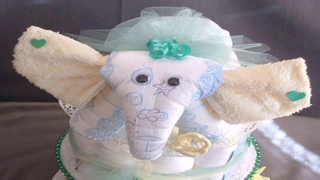 DIY Elephant Baby Shower Decorations  Diy Elephant Baby Shower Decorations Gif Maker DaddyGif