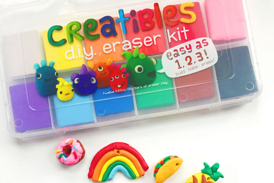 DIY Eraser Kit  DIY Pencil Eraser Ornaments