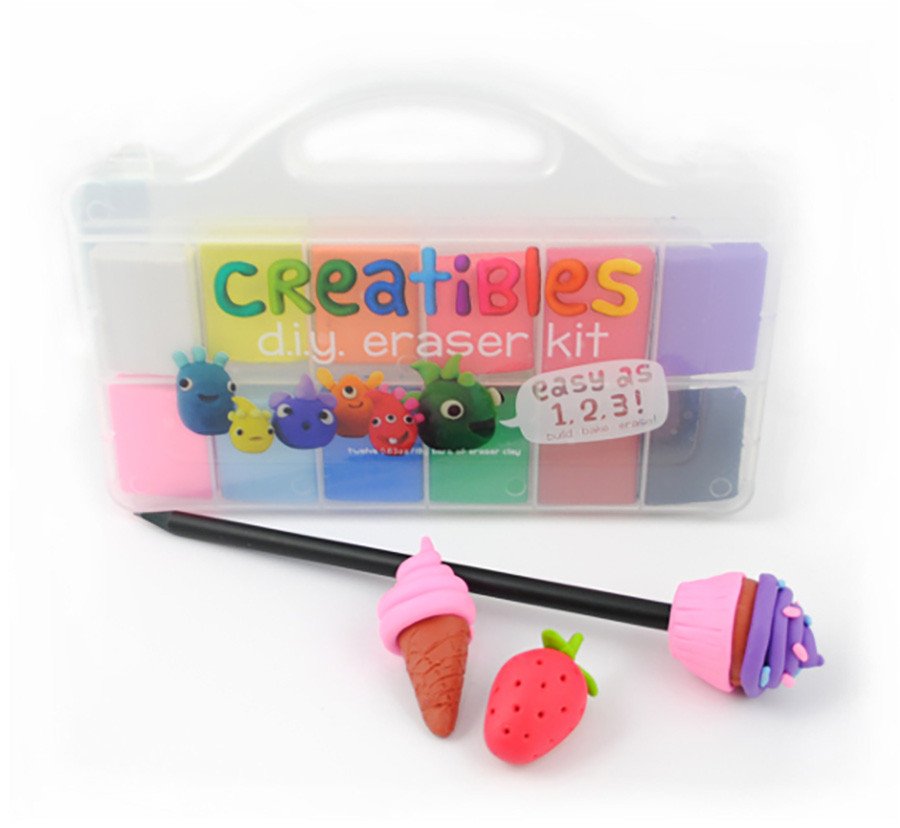 DIY Eraser Kit  Creatibles DIY Erasers Best Arts & Crafts for Ages 6 to 11