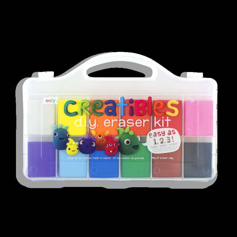 DIY Eraser Kit  Creatibles DIY Eraser Kit OOLY