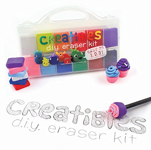 DIY Eraser Kit  OOLY Creatibles DIY Erasers Set of 12 161 001 Buy
