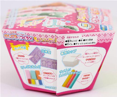 DIY Erasers Kit  DIY eraser making kit for pencil caps kawaii animals DIY