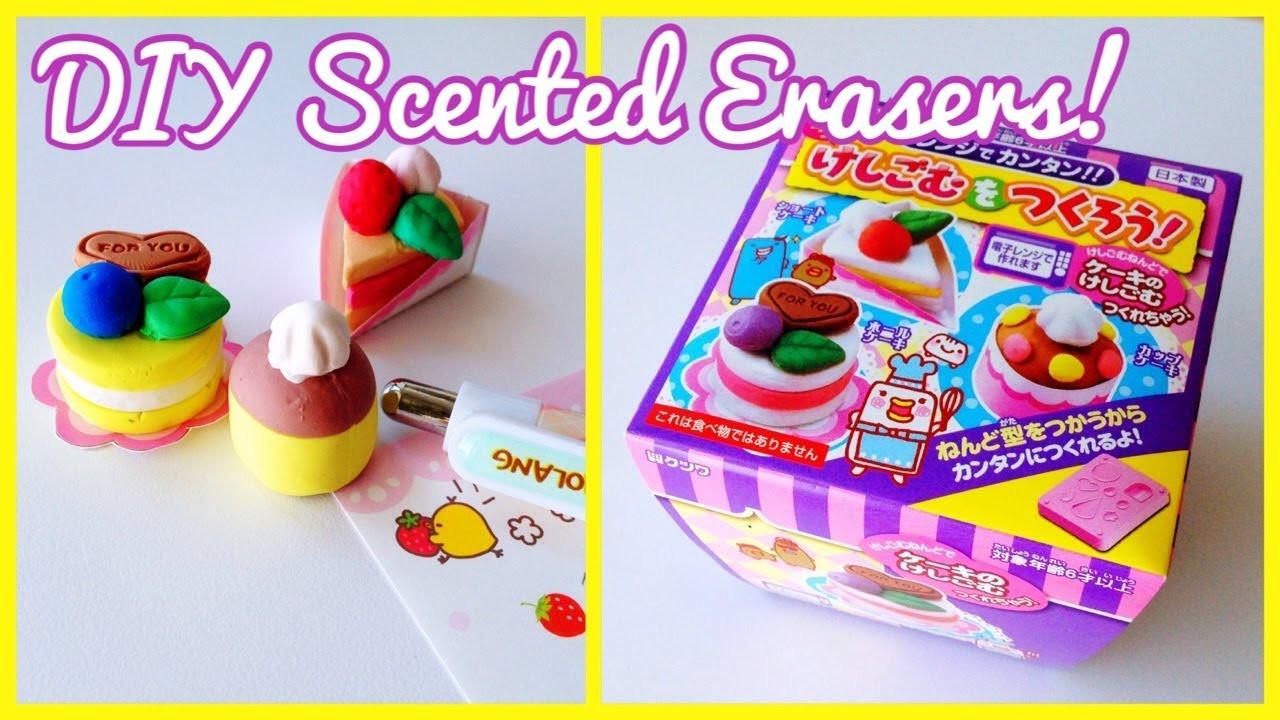 DIY Erasers Kit  DIY Scented Erasers [Kutsuwa Japanese Cake Eraser Kit
