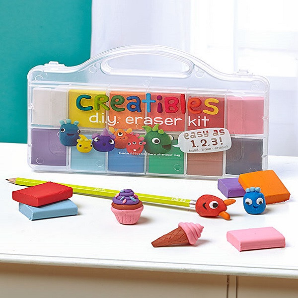 DIY Erasers Kit  Creatibles DIY Eraser Kit Fantastic Craft To Keep The