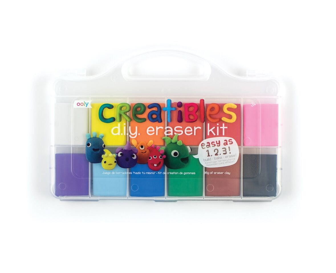 DIY Erasers Kit  OOLY is now newly OOLY Creatibles DIY Erasers Set of 12