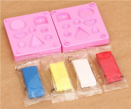 DIY Erasers Kit  DIY eraser making kit to make yourself cakes DIY Sets