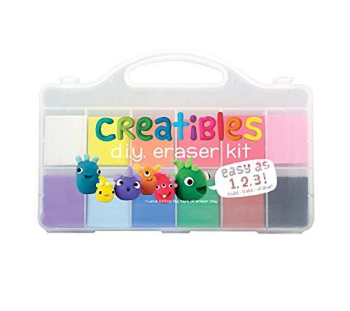 DIY Erasers Kit  International Arrivals Creatibles DIY Erasers Set of 12