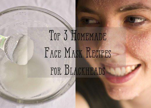 DIY Face Masks For Blackheads  Top Three Homemade Face Scrub Recipes for Blackheads