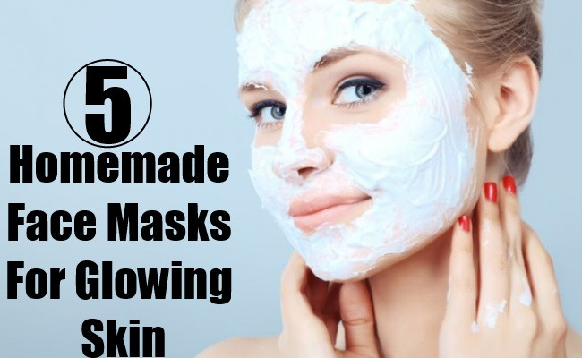DIY Face Masks For Glowing Skin  5 Homemade Face Masks For Glowing Skin