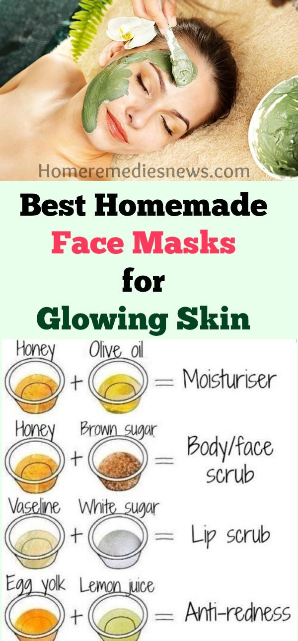DIY Face Masks For Glowing Skin  Best Homemade DIY Face Mask For Acne Scars Anti Aging