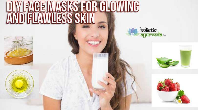 DIY Face Masks For Glowing Skin  DIY Homemade Face Masks For Glowing Skin Get Flawless Skin