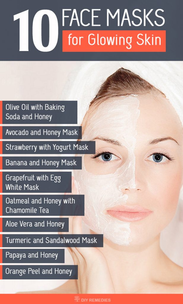 DIY Face Masks For Glowing Skin  10 Best Face Masks for Glowing Skin