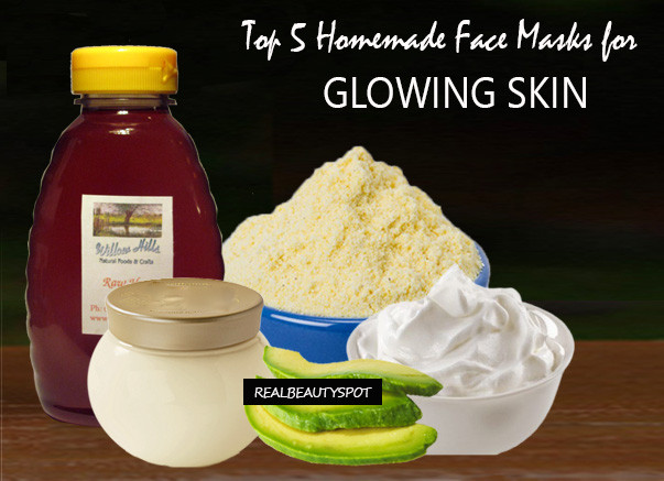 DIY Face Masks For Glowing Skin  Top 5 Homemade Face Masks for Glowing Skin