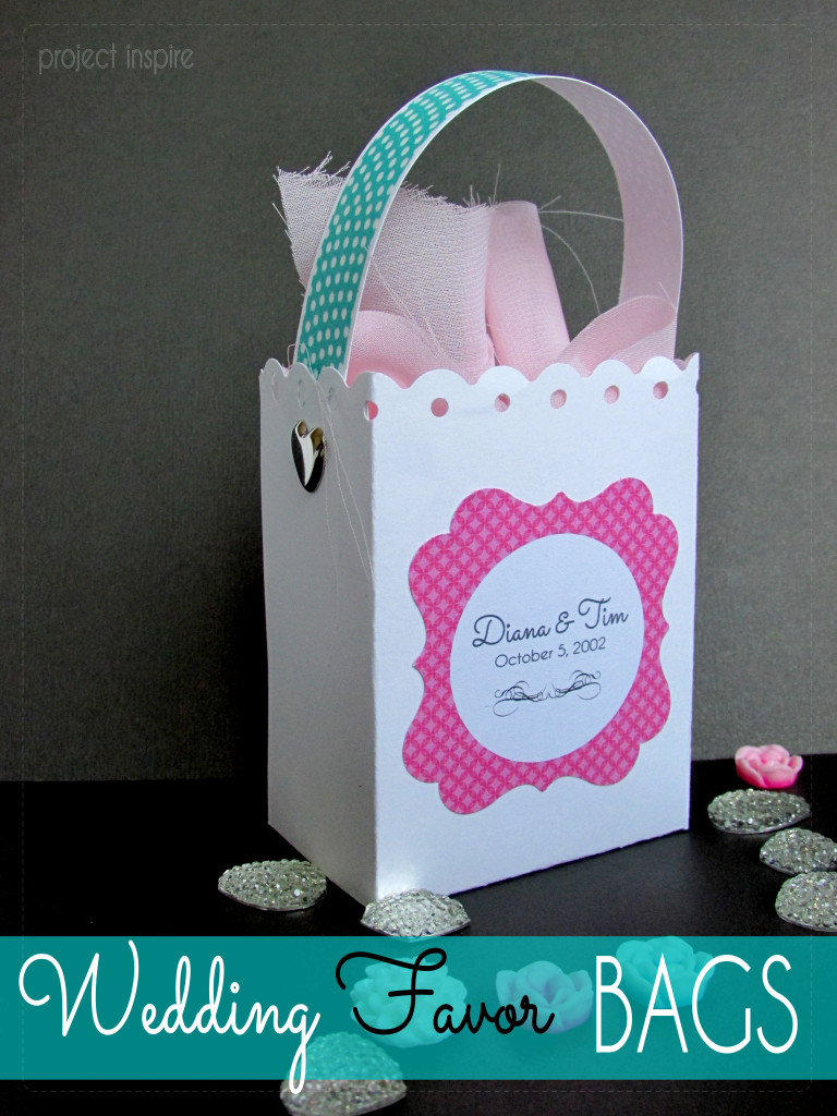 DIY Favor Box  Wedding Favors on a Bud Project Inspire