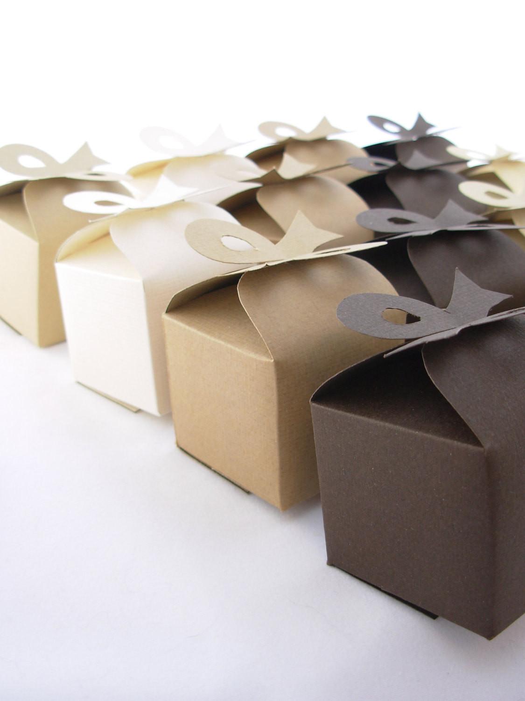 DIY Favor Box  DIY Wedding Favor Bon Bon Box Template