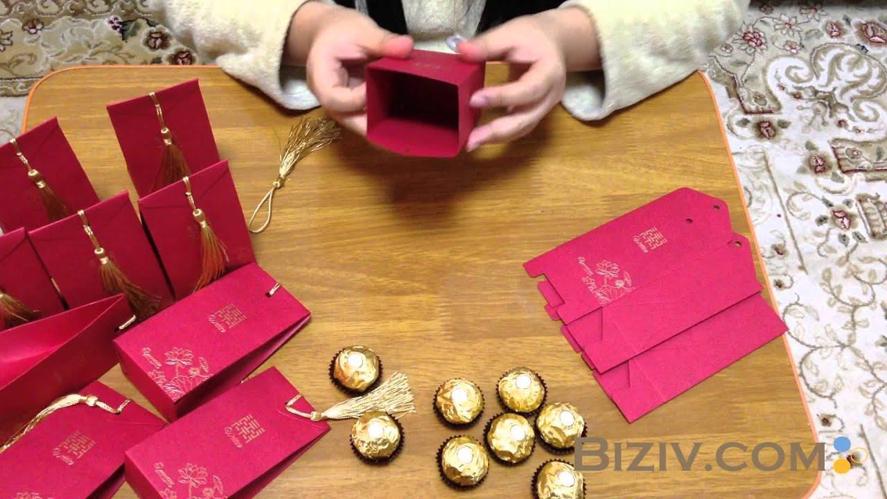 DIY Favor Box  diy wedding favor boxes