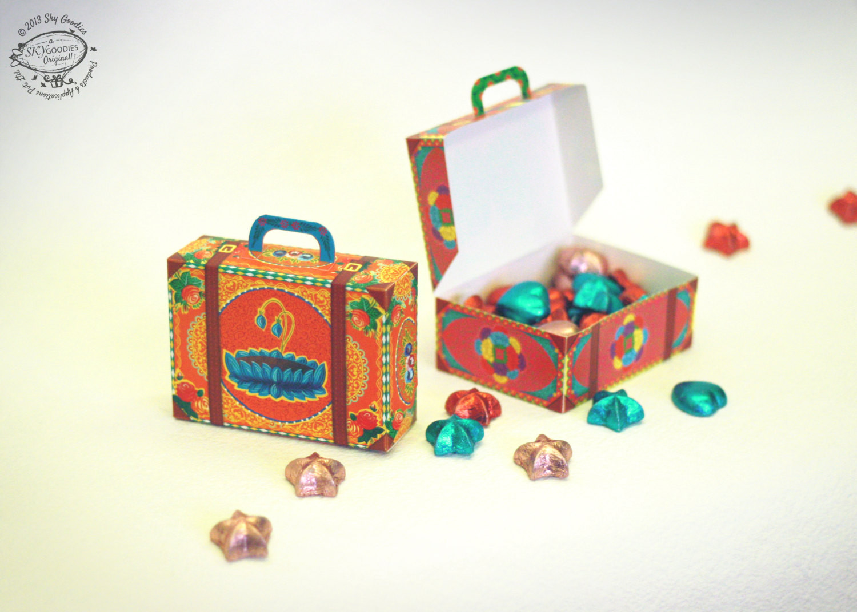 DIY Favor Box  DIY Paper Gift Box Favor Box Colorful Mini by SkyGoo s