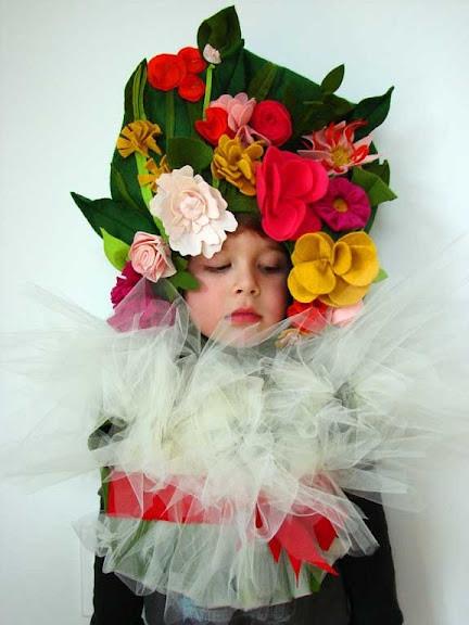 DIY Flower Costume  DIY Floral Bouquet Costume