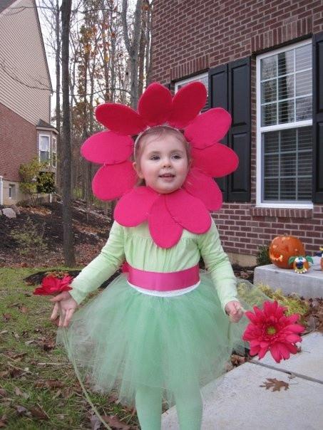 DIY Flower Costume  DIY flower costume mask Pinterest
