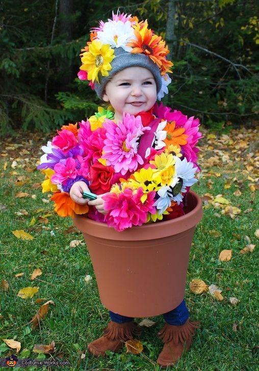 DIY Flower Costume  Potted Flower Costume