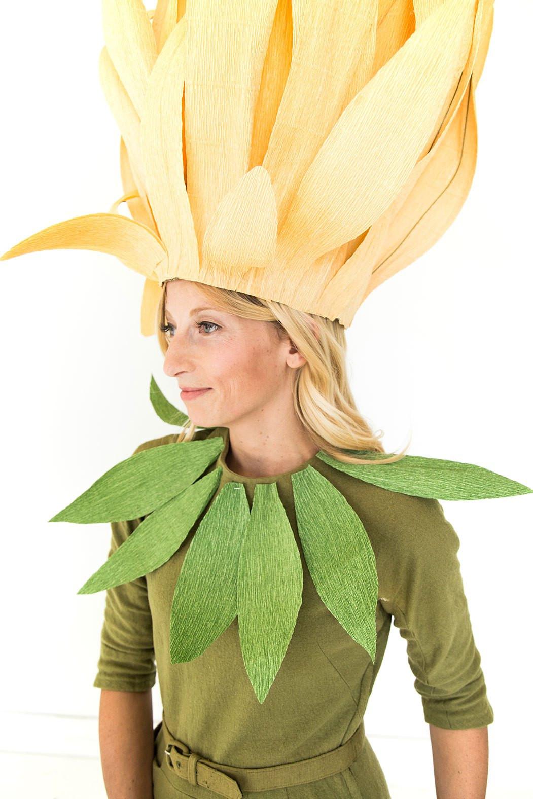 DIY Flower Costume  Chrysanthemum mom and daughter costume