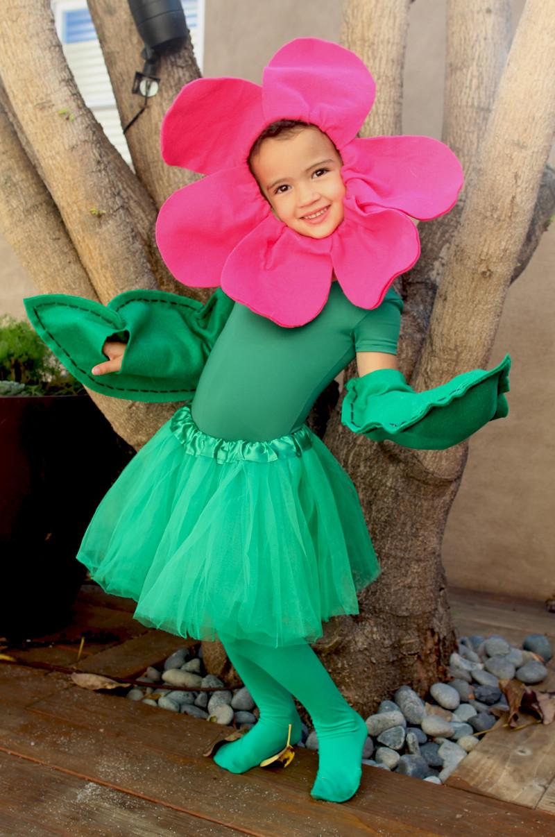 DIY Flower Costume  My Flower Girl