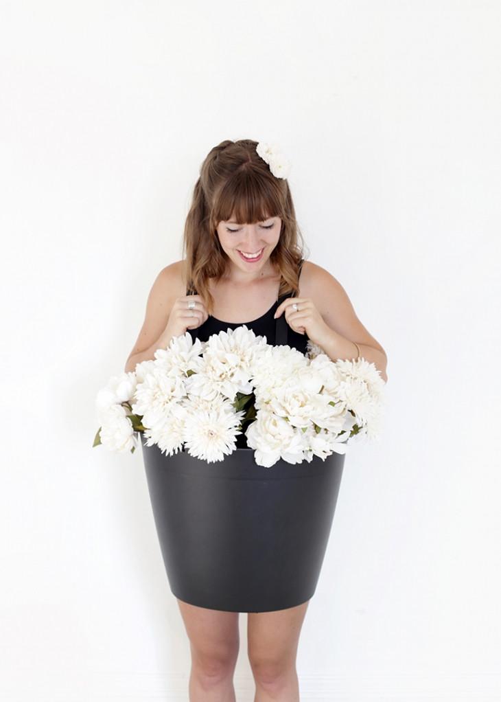 DIY Flower Costume  DIY Flower Pot Costume The Merrythought