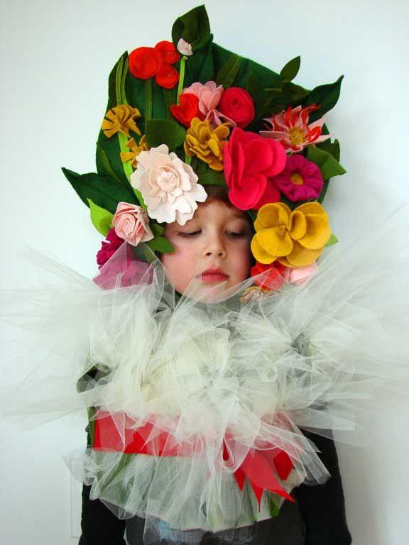 DIY Flower Costume  20 Best Kids Halloween Costumes