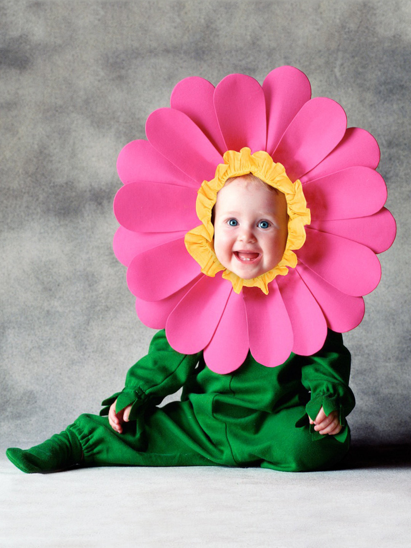 DIY Flower Costume  Baby Halloween Costumes Project Nursery