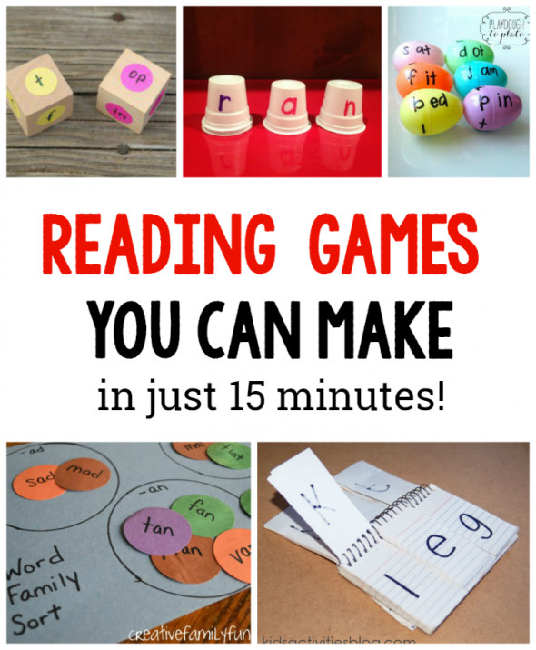 DIY Games For Kids  10 DIY Reading games for kids The Measured Mom