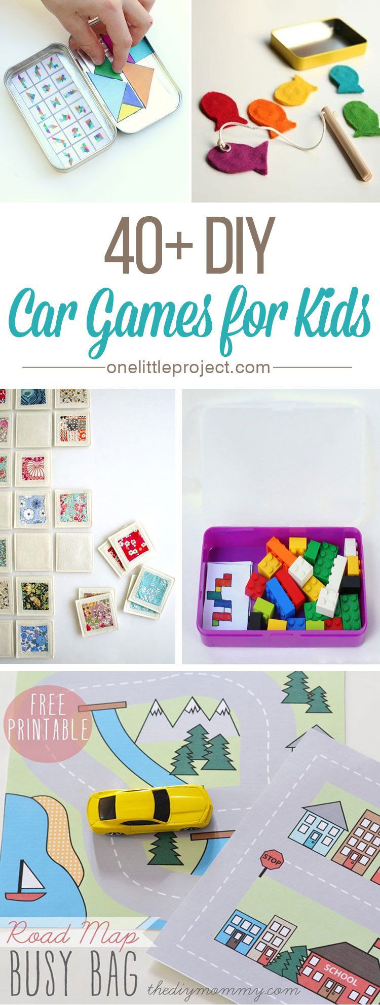 DIY Games For Kids  40 DIY Car Games for Kids