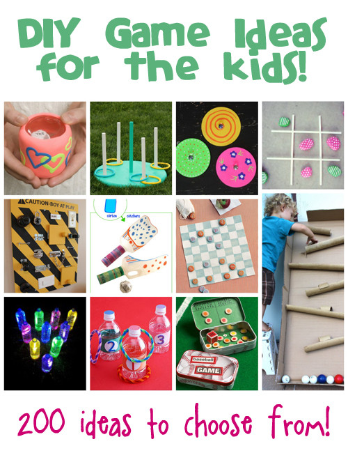 DIY Games For Kids  DIY Games Ideas for Kids