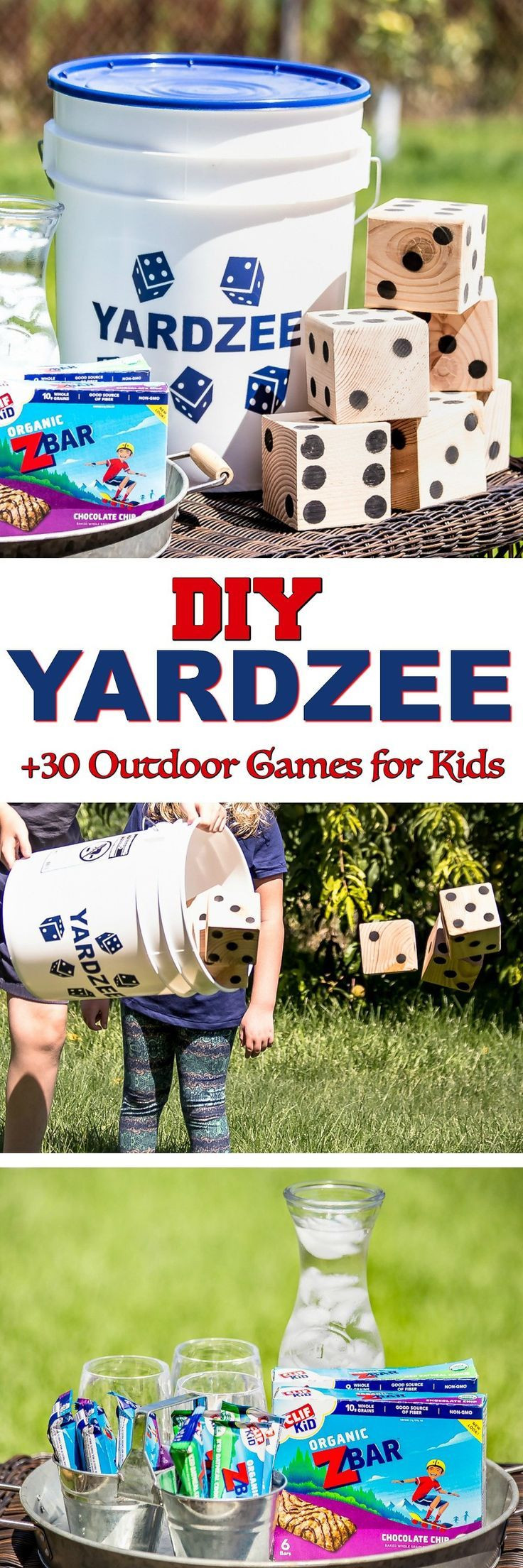 DIY Games For Kids  Classic Outdoor Games for Kids DIY Yardzee tutorial