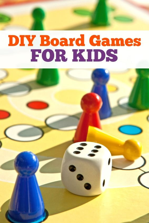 DIY Games For Kids  25 best ideas about Homemade board games on Pinterest