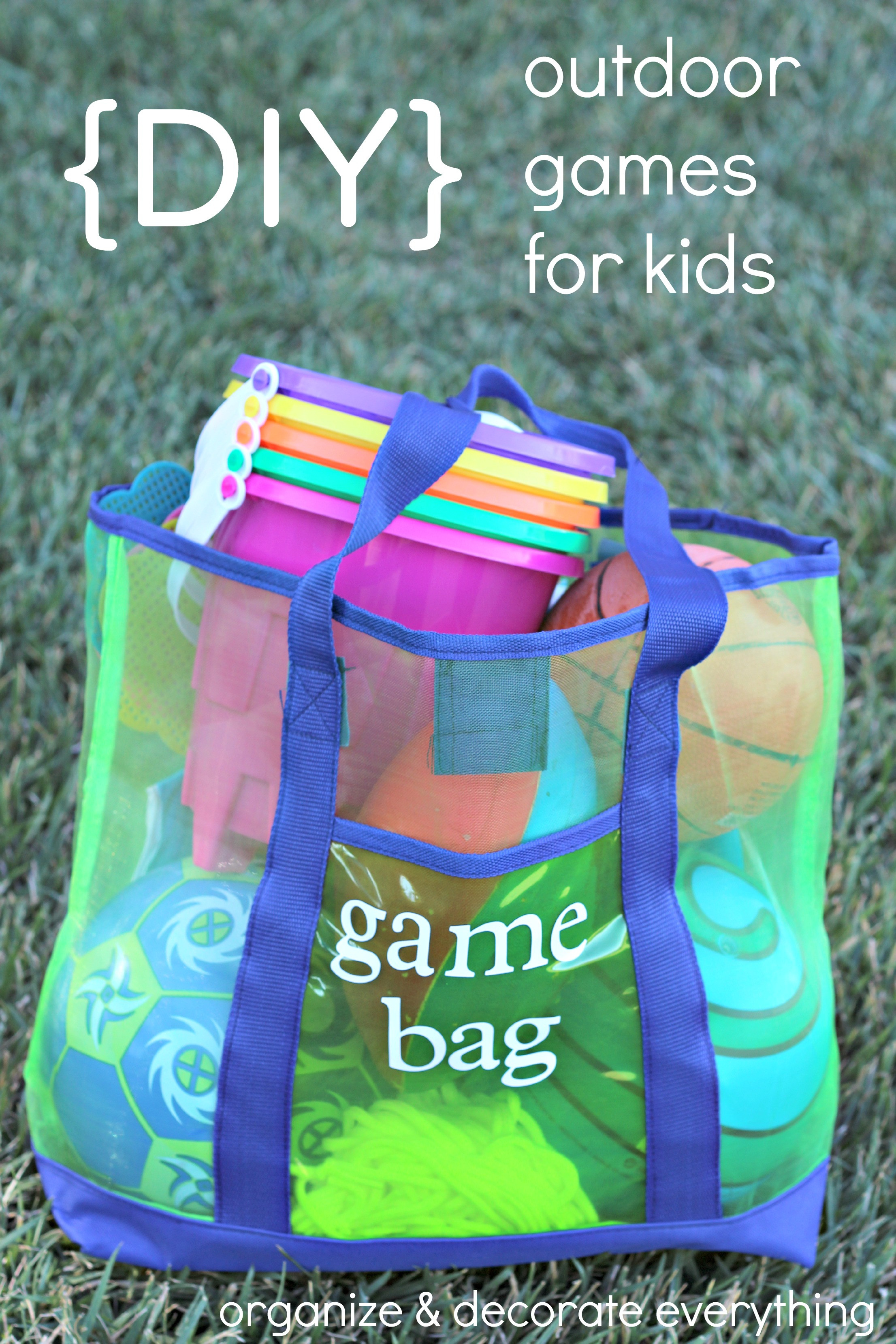 DIY Games For Kids  DIY Outdoor Games for Kids Organize and Decorate Everything