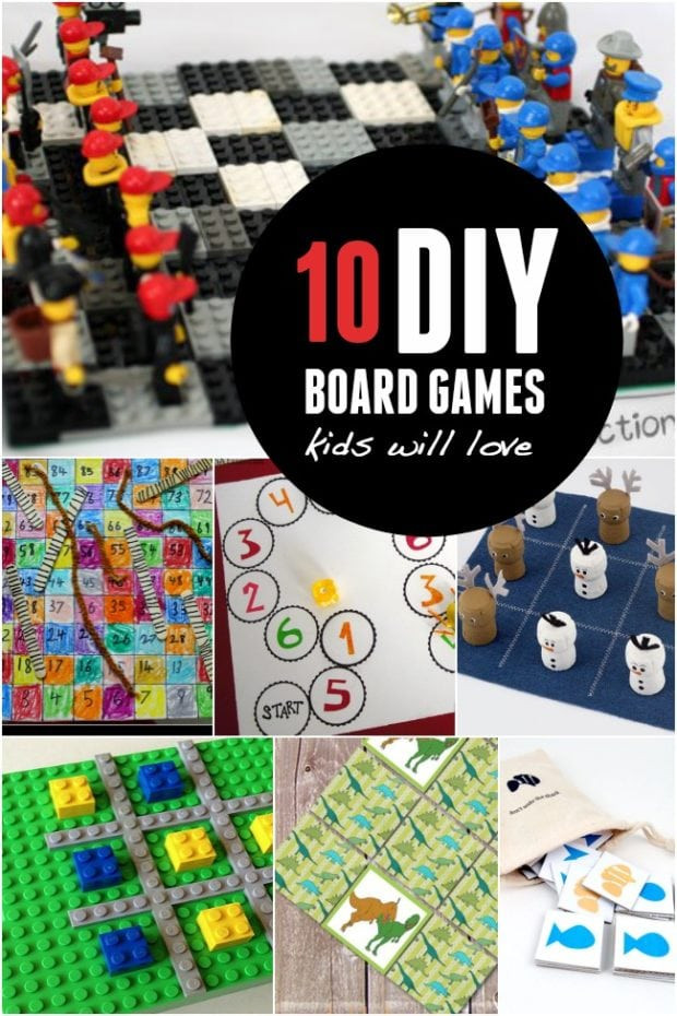 DIY Games For Kids  10 DIY Board Games Kids will Love